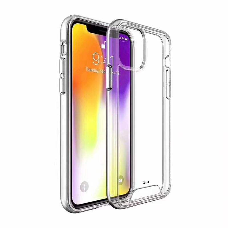 AirJacket Clear Shock Absorption Mobile Phone Case for iphone 11 Pro Max