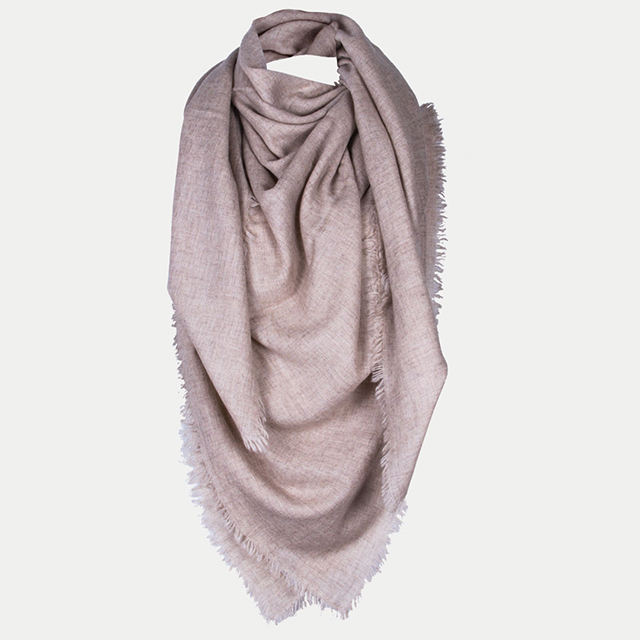 Big XL Size Scarves Stole Shawl Wrap Square All Four Side Fringe Merino Wool Unisex Winter Pure Soft Warm Nepal Cashmere Scarf