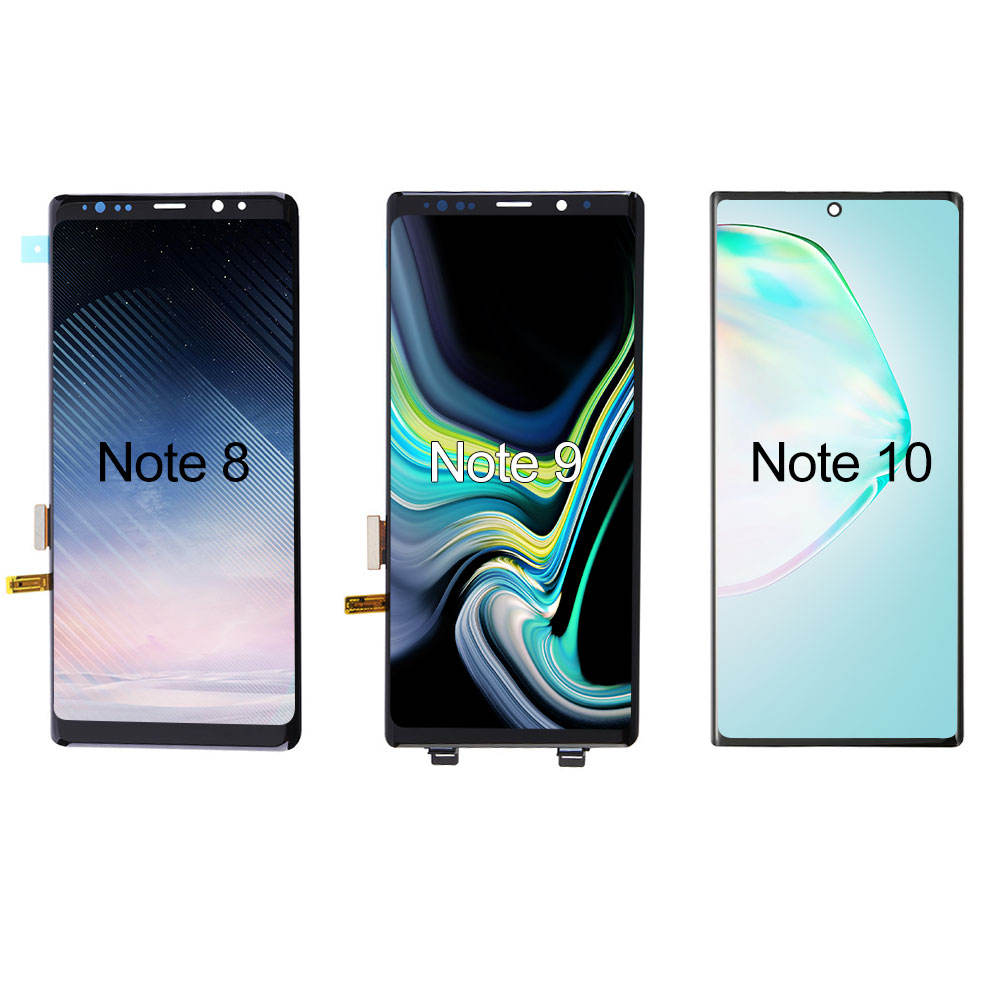 Elekworld OEM AMOLED For Samsung Galaxy Note 8 Note 9 Note 10 LCD Touch Screen AMOLED Display Replacement NO Burn Shadows