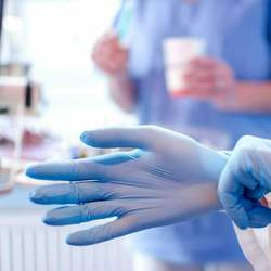 Cheap Disposable Nitrile Powder Free for Examination