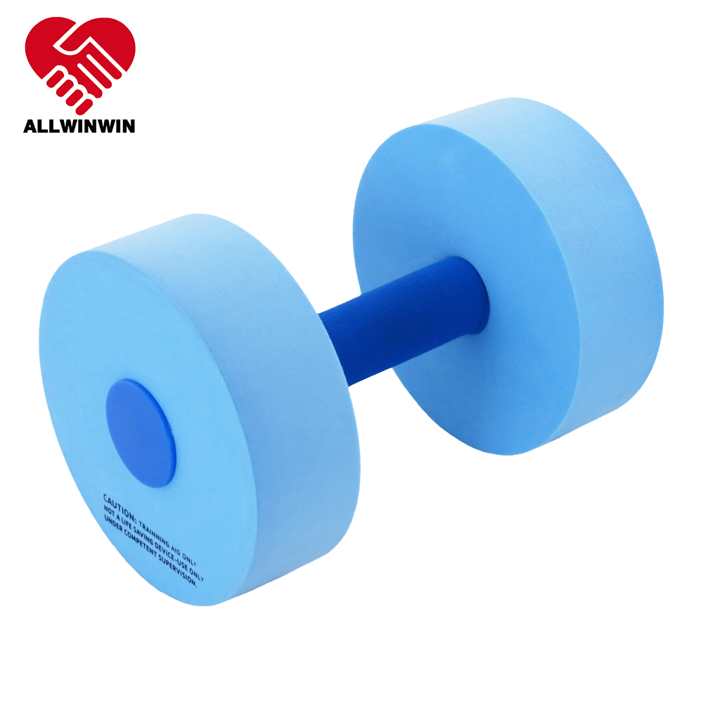 Allwinwin WDB01 Water Dumbbells - 21cm Cylinder EVA Foam Aqua Workouts Training Aquatic