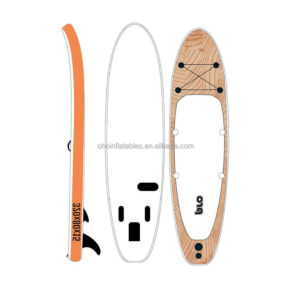 Drop Stitch Material inflatable Sup Stand Up Paddle Board OEM Air Inflatable Jet Surfboard for Fishing