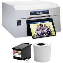 Primera Impressa IP60 Printer Kit with Full Color Ink Cartridge and Photo Paper