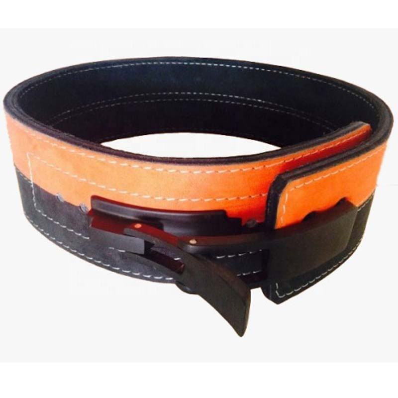 Custom Gym Fitness 10mm 13mm Lever Belts PowerLifting, Weight Lifting Leather Belt Gym Power Fitness Training Belt