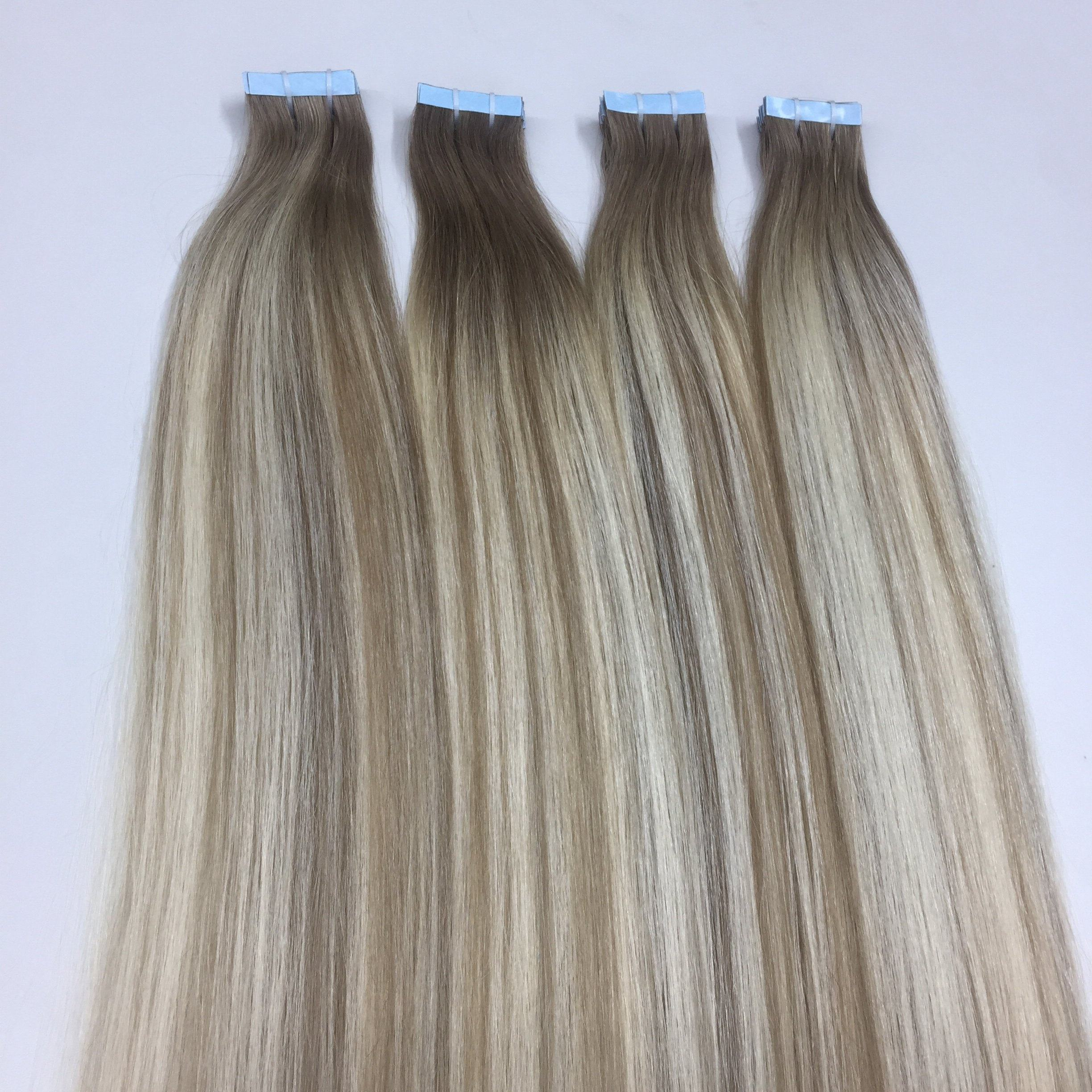 New style ombre-piano tape hair extension cheap price