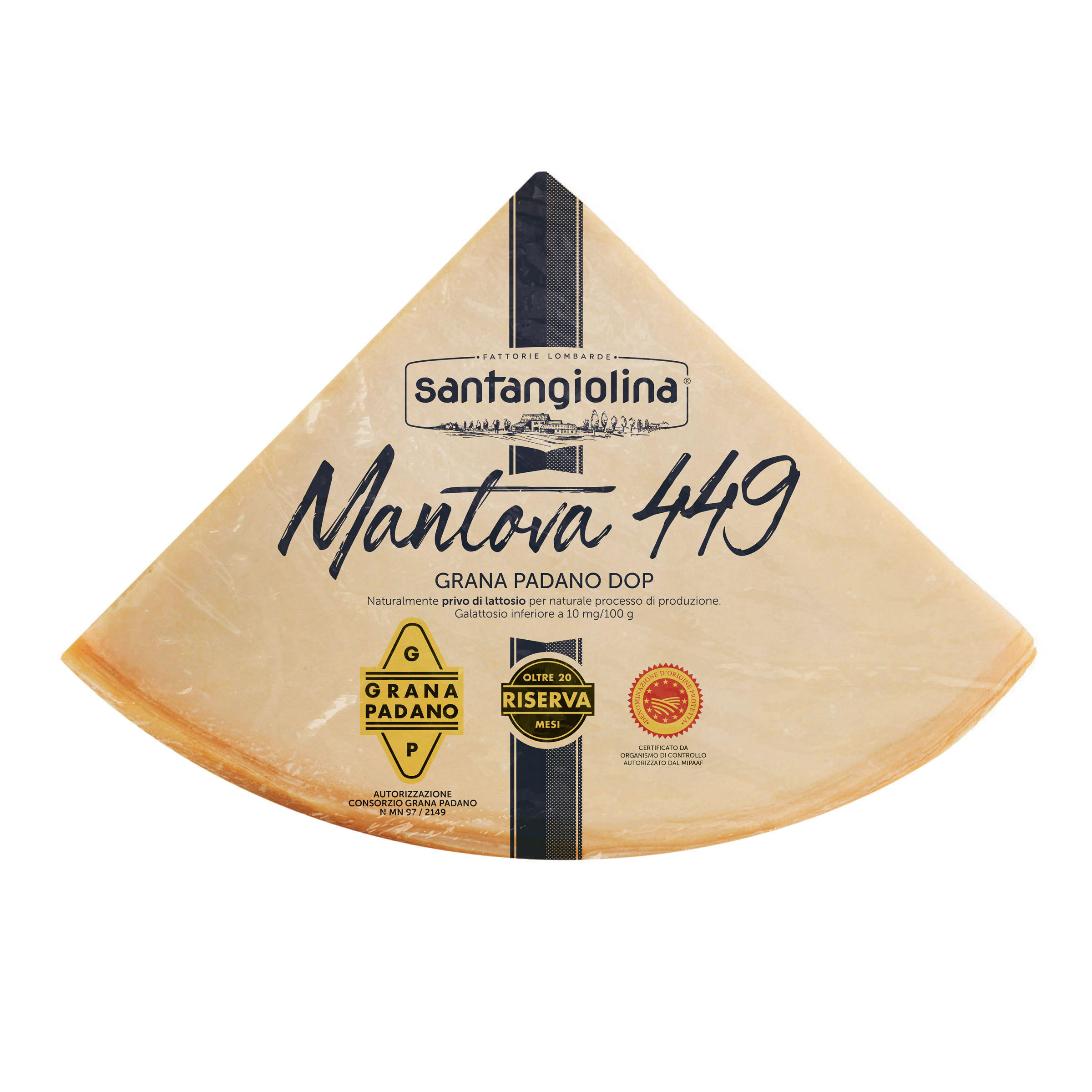 Made in Italy - Mature Hard Cheese Made of Cow Milk- Grana Padano PDO Cheese-Table Cheese for Any Occasion