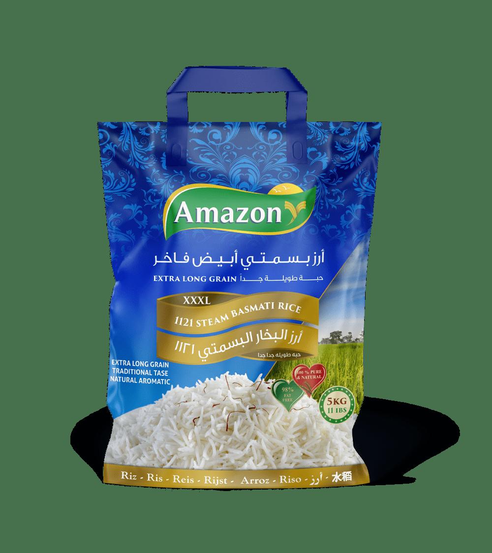 Amazon Steam Basmati Rice, 1121 XXXL