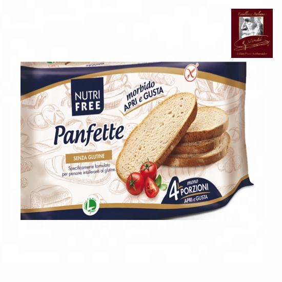 300 g Gluten Free Sliced Bread Pan Fette Giuseppe Verdi Selection Gluten Free Bread Made in Italy