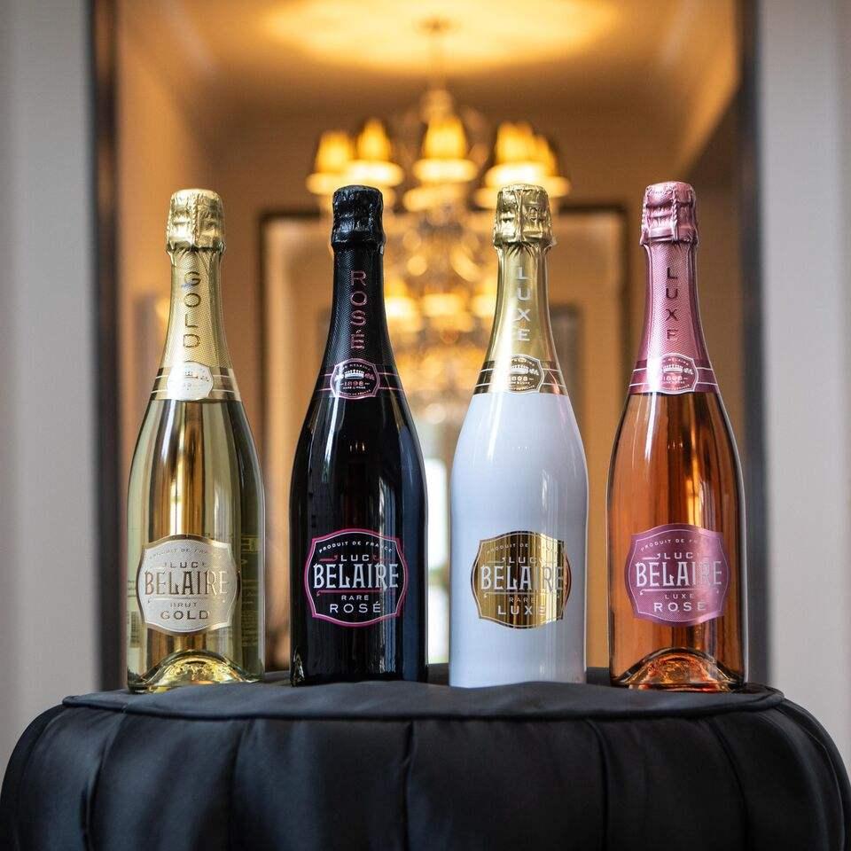 Luc Belaire Sparkling Rose Wine