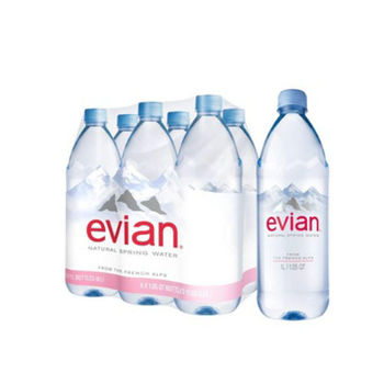 Evian Natural Mineral Water in 330ML, 500ML, 750ML