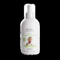 Baby Moisturizer Aloe Vera Kidsbliss 252ml - paraben free Natural Ingredients Made in Australia