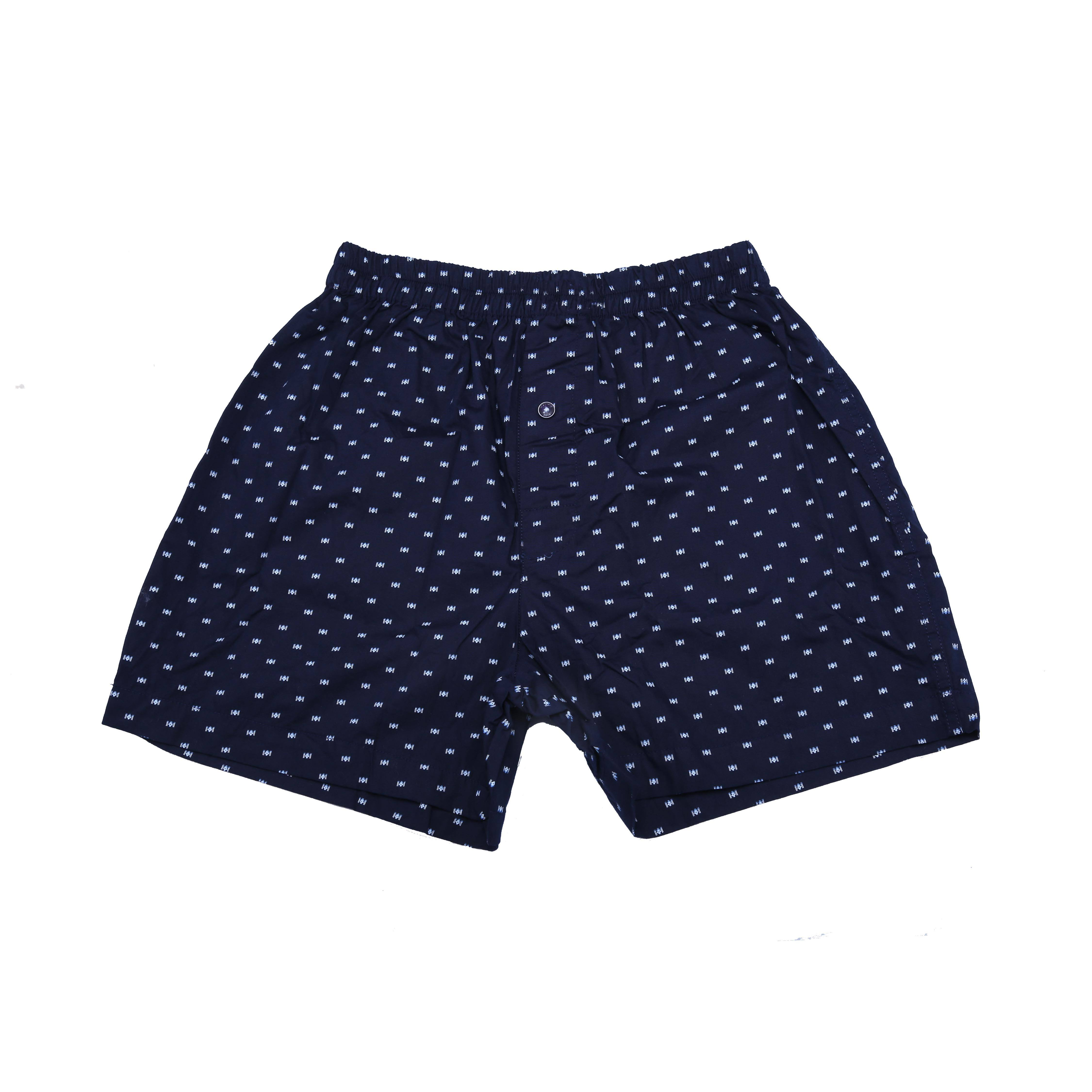 Men's cotton woven boxer short's / underwear short