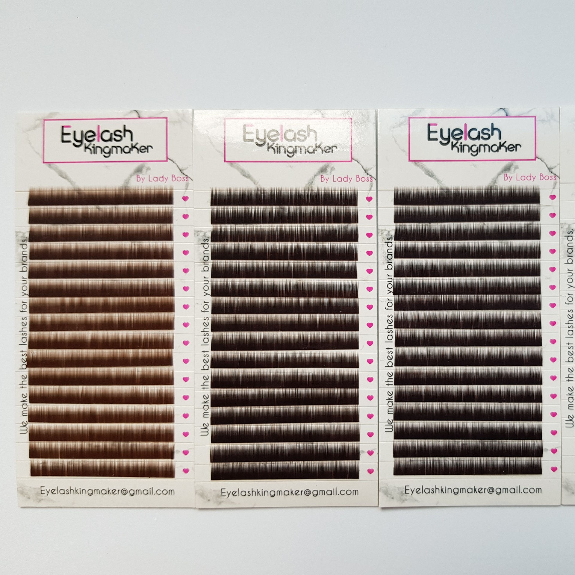 Wholesale 2020 Eyebrow Extensions PBT material dark brown light brown black eyebrow extensions