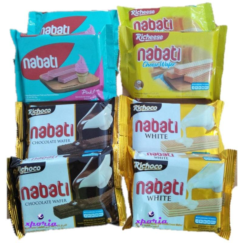 Richeese Nabati Wafer 50gr | Indonesia Xuất Xứ