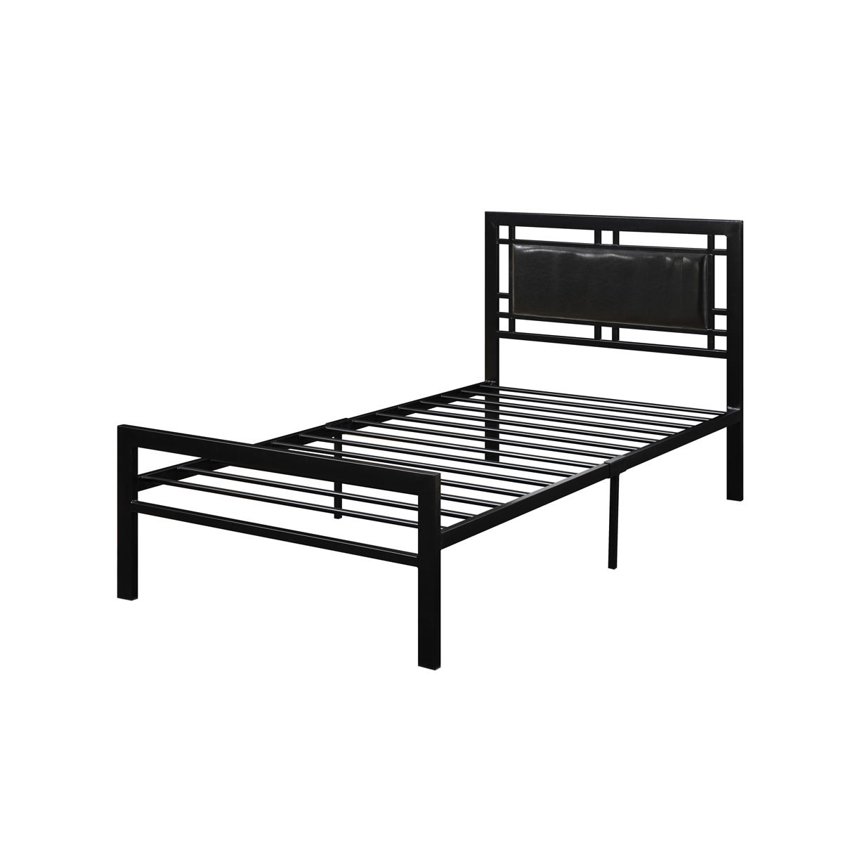Modern Latest Metal Domica F900/901-T Steel Antique Twin Bed Design Malaysia