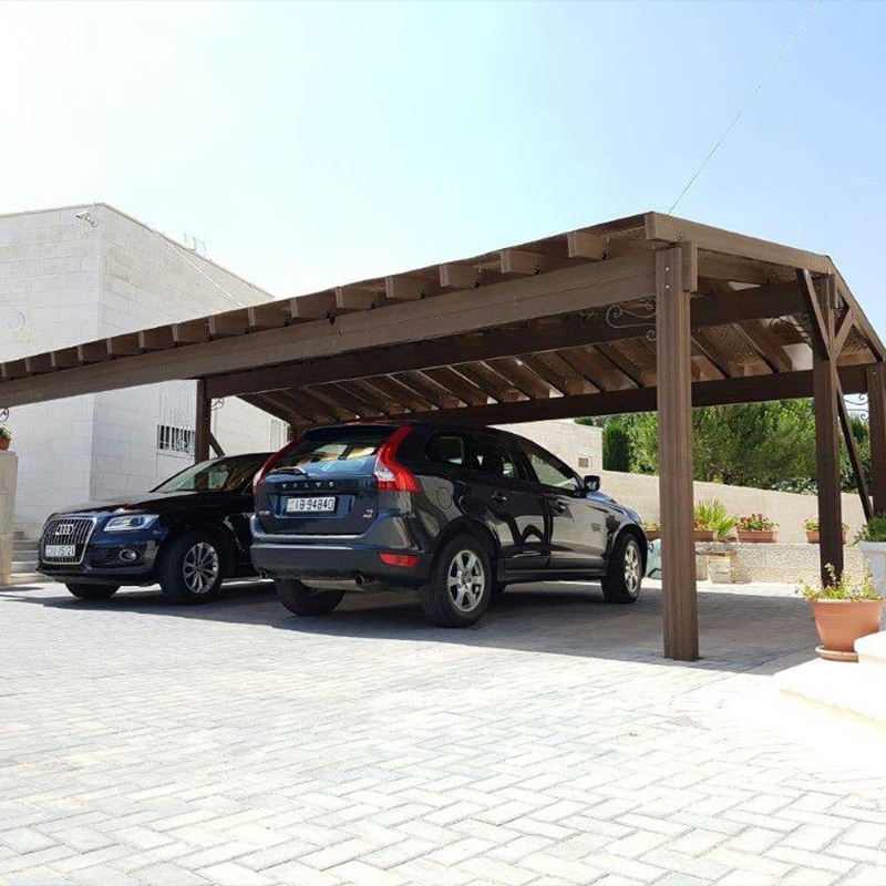 Wholesale Hard Wearing Pest Resistant Easy Installation Engineered WPC Wood Composite Carport Pergola