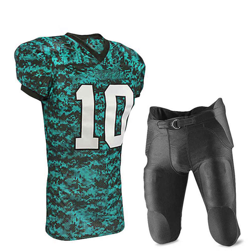 Youth Size Custom Latest Color Quick Dry American Football Uniform Online Sale American Football Wear