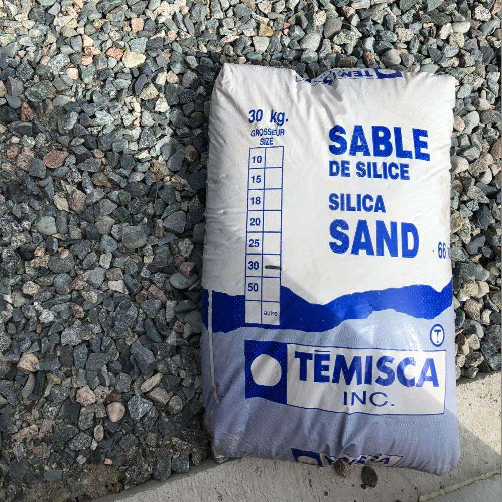 High Purity Silica Sand / Factory price Silica Sand