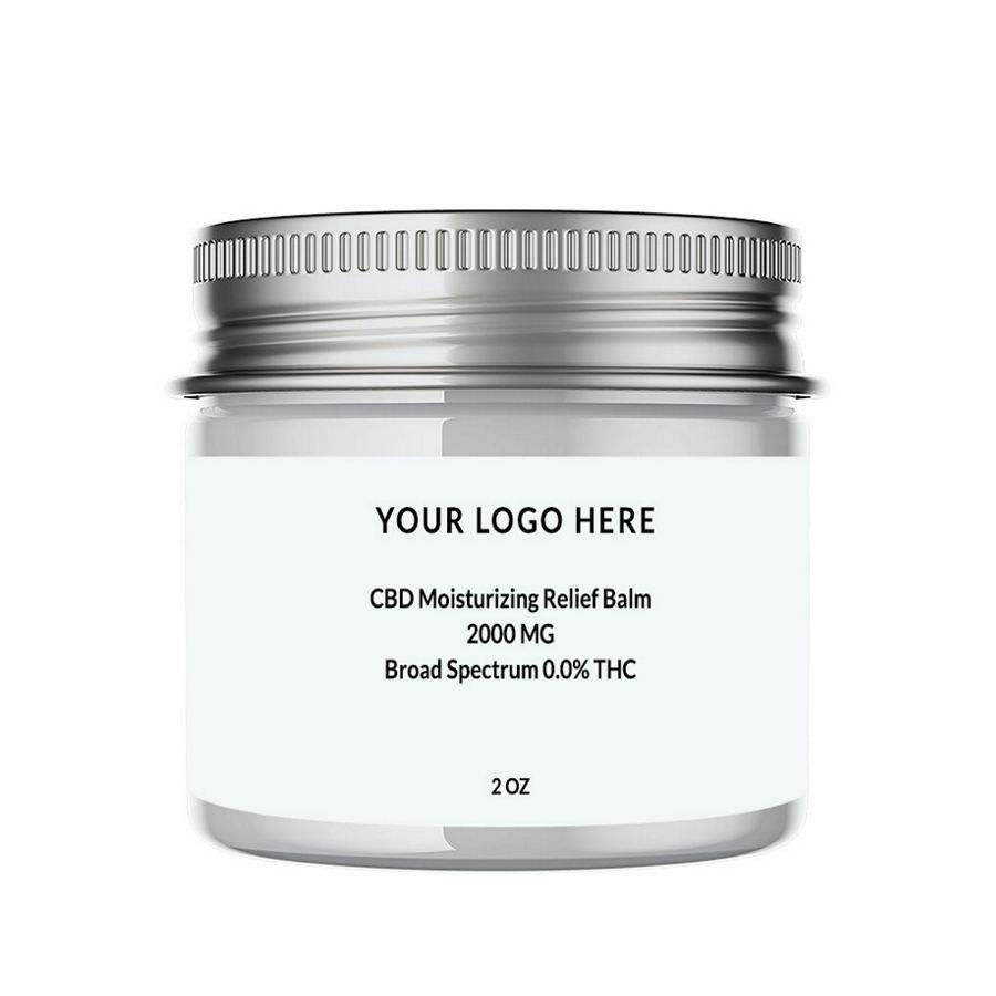 2000MG Broad Spectrum CBD Relief Balm USA Grown & Manufactured Pain Relief Moisturizing Non GMO