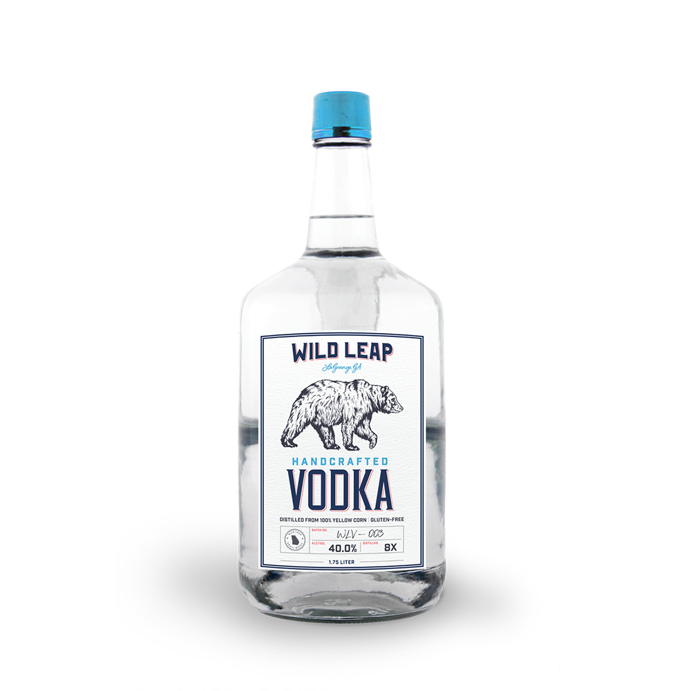 Unique flavor Wild Leap - Premium American Made Vodka 1.75 Liter
