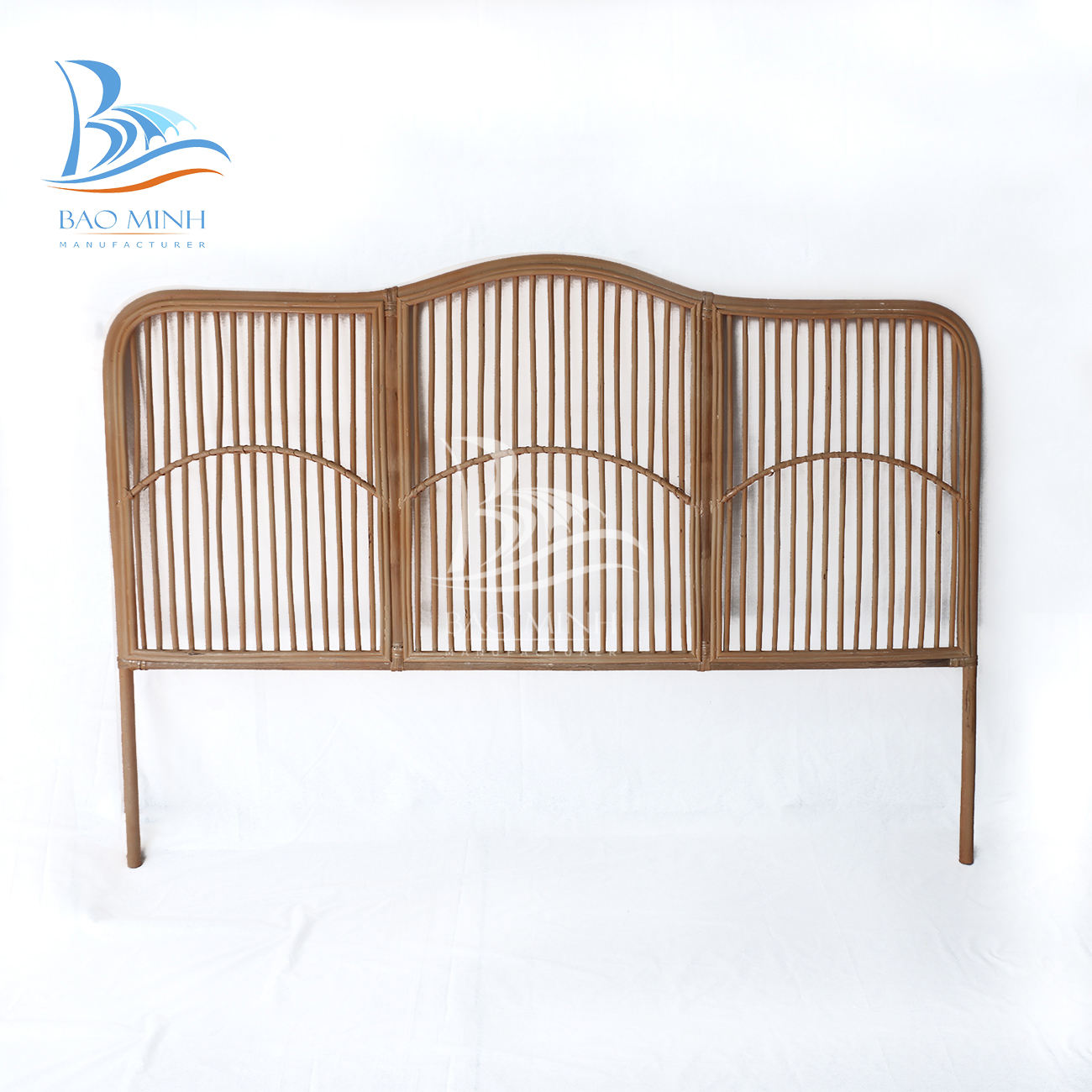 Natural rattan headboard king an queen size