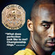 2016 Lakers Kobe Bryant Championship Ring 20th Anniversary Retirement Commemorative