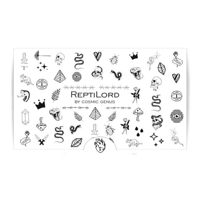 ReptiLord snakes decorations adhesive nail sticker nail art decoration