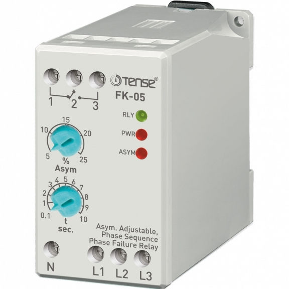 Phase (Motor) Protection Relay with Adjustable Asymmetry/ FK-05 & FK-05F