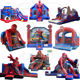 spiderman spider man inflatable bouncer jumping bouncy castle bounce house
