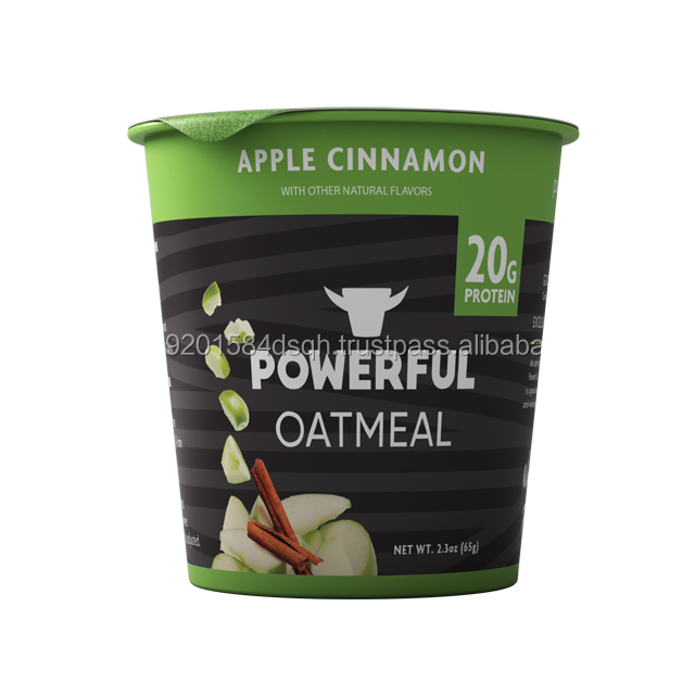 more traditional recipe of a Powerful breakfast -Apple Cinnamon Instant Oatmeal