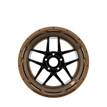 Chinese factory T105 2-piece design forged rims 17x9 inch replica alloy car wheels for VW