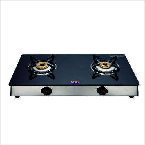 Kitchen appliance tempered finish gas cooker stove 2 burner multi usage gas stove