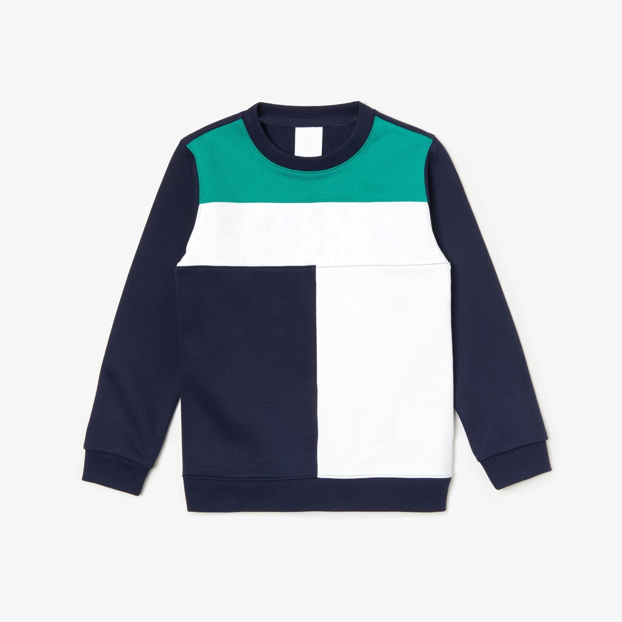 Custom made kids sweatshirt wholesale color block hoodies and sweatshirt for children