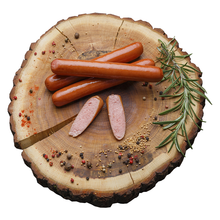 Best quality hotdog Genevan  smoked meat frozen sausages for hot dog