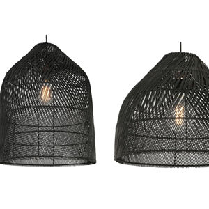 Top Selling Bamboo Rattan Jute Seagrass Pendant Light Chandeliers Modern Lighting Parts Handcrafted Lighting for Interior Decor