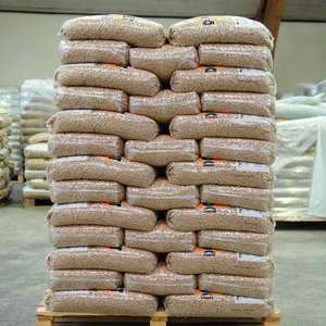 GRADE AA Europe Wood Pellets 15 kg Wood Pellet Din plus/EN plus-A1 Wood