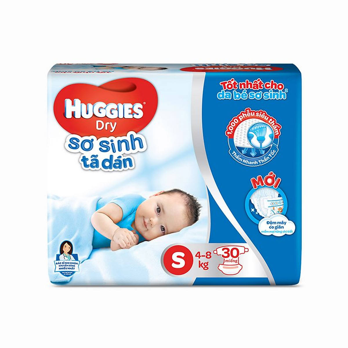 Huggie Diapers Bag Size S 30pcs x6