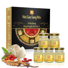 Bird's Nest Vietnam Instant Imperial bird's nest with cordyceps and goji fruit, especially good for men