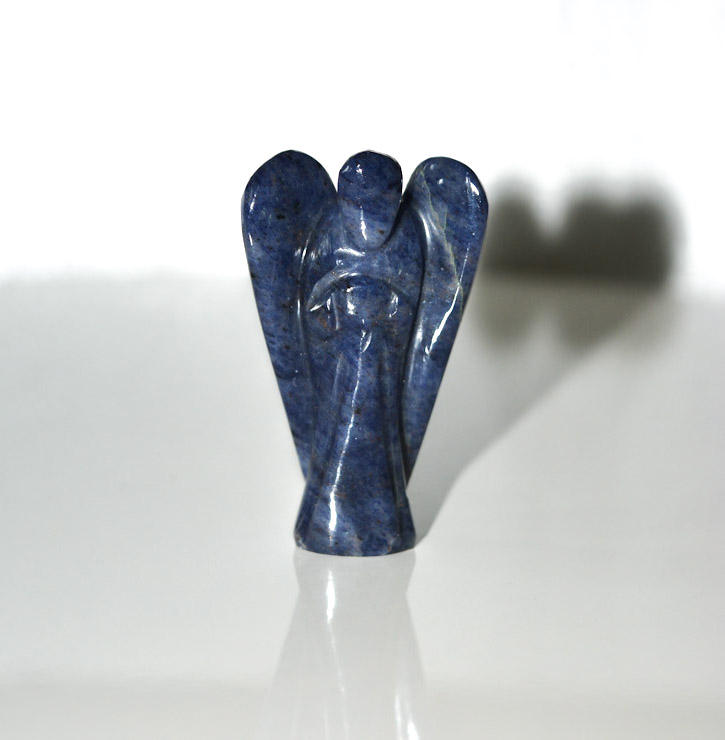 Agate Sodalite Hand Made Carved Crystal Angel :Wholesale Natural Healing Angel