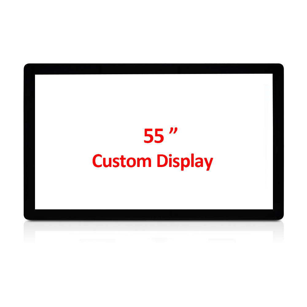 Oem Odm Toponetech 55 Inch Custom 4K Capacitieve Open Frame Touch Screen Monitor Display Pantalla Táctil 1000 Nits Om 1500 Nits