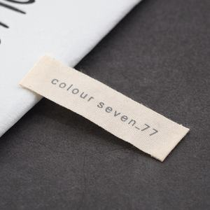 Custom Sewing Labels Clothing Tags And Labels Center Fold Woven Label