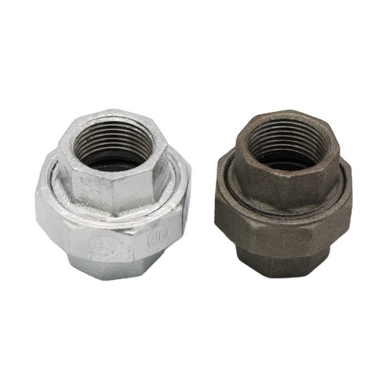 plumbing materials galvanized cast iron pipe fittings pipe connectors gi fittings Union