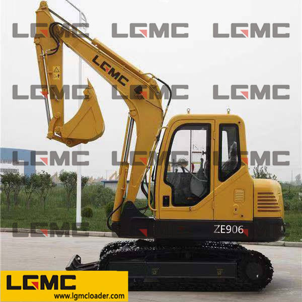 ZE906 wheel excavator Imported from the horse 4 tnv94l engine Lead to strengthen the work device Have multi-function GPS