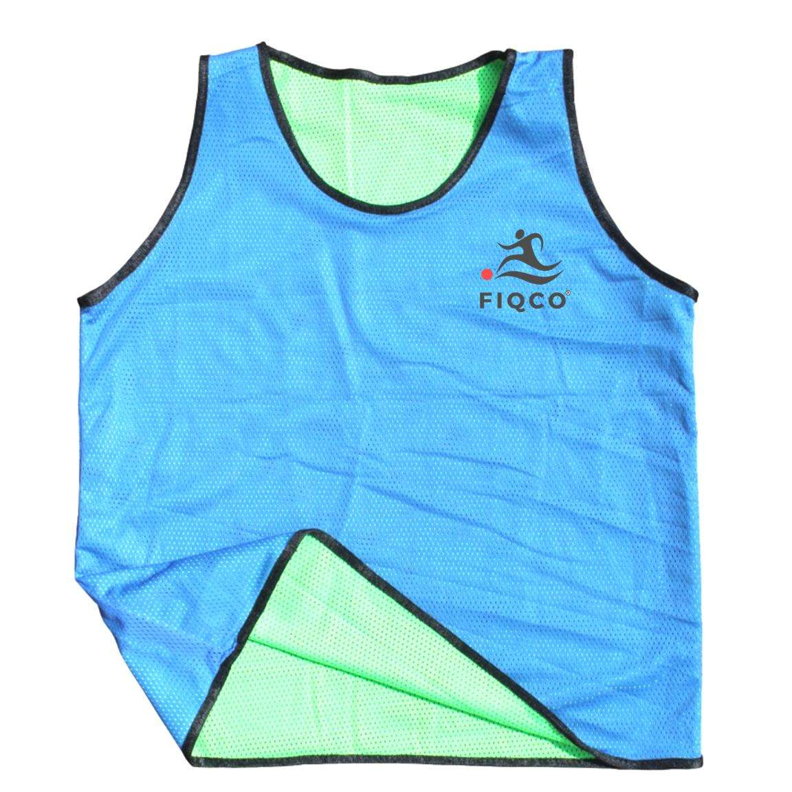 Reversible Bib Practice Pinnies Double Side Training Vest Soccer Training Shirt