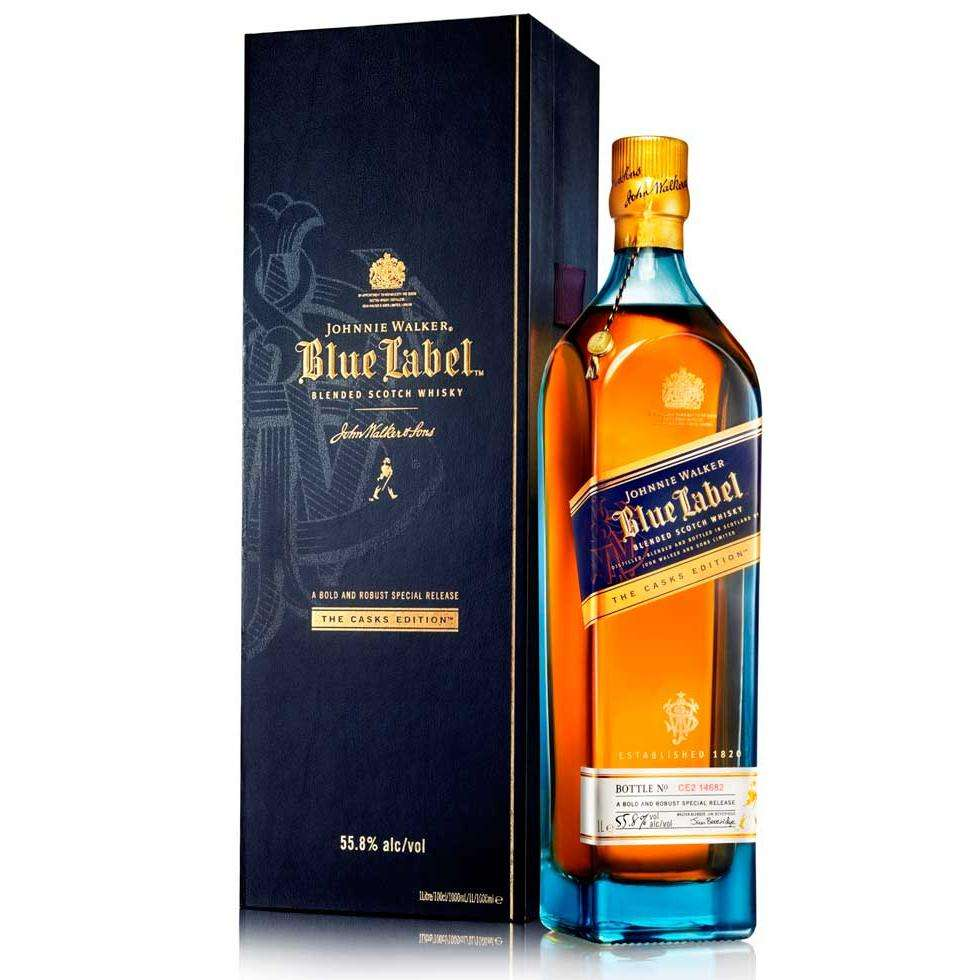 Johnnie Walker Étiquette Bleue 1L