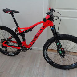 Affordable Or --- b---- ea Occam TR M20-Plus Mountain Bike Medium Carbon 27.5+ Fox Shox 12 Speed