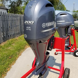 200hp Yammahas outboard motors for sale