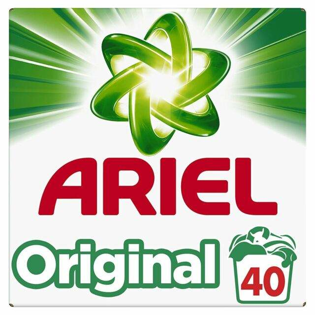 Ariel 3-in-1 Pods Original Washing Liquid Capsules 55 Washes, Extraordinary Cleaning, Cleans, Lifts Stains, Brightens