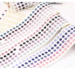 Base Element Dots Washi Tape Paper For Planner