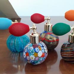 perfumes in Murano glass by Sergio Fiumicelli